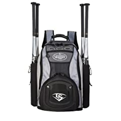 Buy Louisville Slugger EB 2014 Series 9 Stick Baseball Bag, Platinum by Louisville Slugger