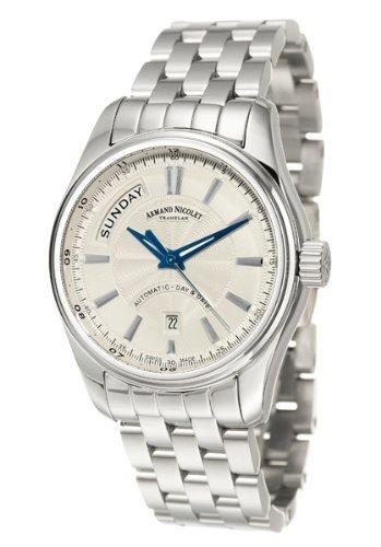 Armand Nicolet M02 Men's Automatic Watch 9641A-AG-M9140