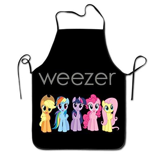 My Little Weezer Easy Clean Baking Adjustable Bib Aprons (Cute Easy Costumes)