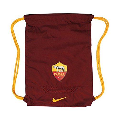 Nike Allegiance As Roma Sacca da Palestra, Team Red/Kumquat/Kumquat, Taglia Unica
