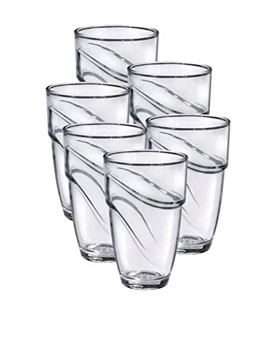 Duralex Set of 6 Wave Tumblers