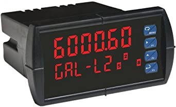Flowline LI55-1401 DataView Level Controller, Meter with 4 Relays, No Repeater, 85-265 VAC
