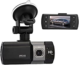 """ANYTEK 2.7"""" FHD 148 degrees Wide Angle Car DVR Vehicle Dash Vision Driving Recorder Dashboard Video Camera 1080P Support 32G TF - Black"""