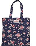 Cath Kidston Cotton Book Bag in Navy Daisy Rose print