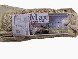 Max2100 VolleyBall Net Made of Cotton, Side Taped Mesh 09 Heavy Duty