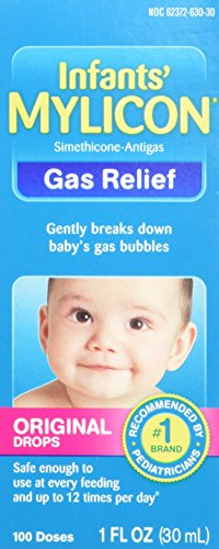 Mylicon Infant Drops Anti-Gas Relief Original Formula, 1.0 Fluid Ounce (Infant Gas Relief Drops compare prices)