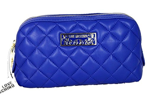 LOVE MOSCHINO Kosmetiktasche Beauty KF0750 blau thumbnail