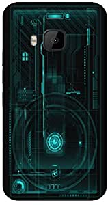 Timpax protective Armor Hard Bumper Back Case Cover. Multicolor printed on 3 Dimensional case with latest & finest graphic design art. Compatible with HTC M9 Design No : TDZ-27364