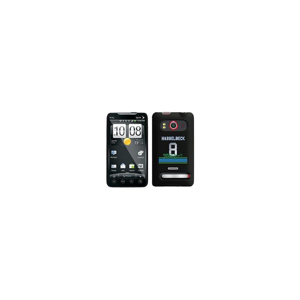 Matt Hasselbeck Signed Jersey on HTC Evo 4G Case