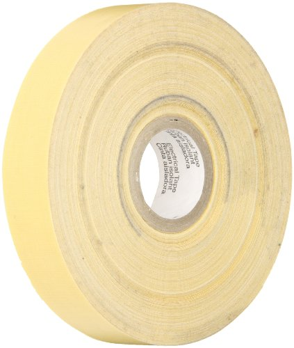 "Scotch Electrical Insulating Varnished Cambric Tape 2520, 3/4"" Width, 36 Foot Length (Pack Of 1)"