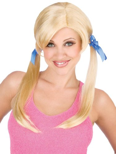 Cheap Date Wig Blonde Trailer Trash Hillbilly Wig Theatre Costumes Wig