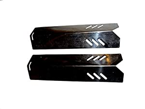 set of two stainless steel heat plates for