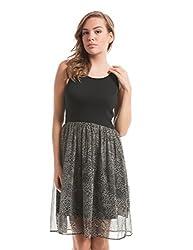 Prym Women's A Line Dress (1011507501_Brown Mix_X-Large)