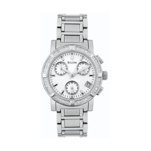 Bulova Ladies Diamond Watch 96R19