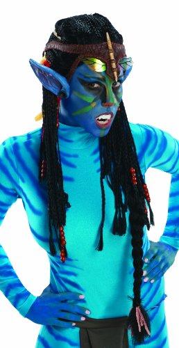 [Rubie's Costume Co Avatar Deluxe Wig And Ears, Neytiri-Standard] (Neytiri Costume Ears)