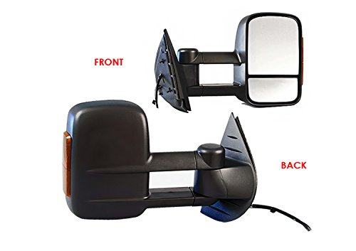 Passenger Rh Paint To Match Ptm Gloss Black Power Side View Mirror fits Sequoia