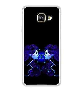 ifasho zodiac sign gemini Back Case Cover for Samsung Galaxy A3 (2016)
