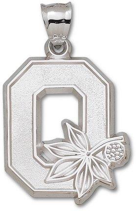 Ohio State Buckeyes Giant 1 1 4 W x 1 1 2 H O Pendant - 14KT Gold Jewelry by Logo Art