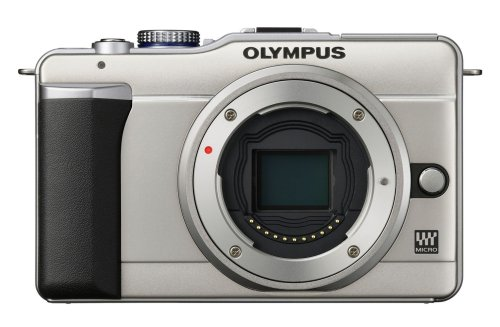 Olympus E-PL1 Compact System Camera - Champagne (Body Only)