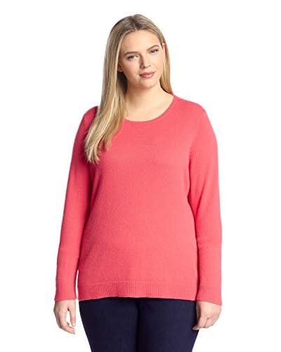 Cashmere Addiction Women's Cashmere Crewneck Sweater