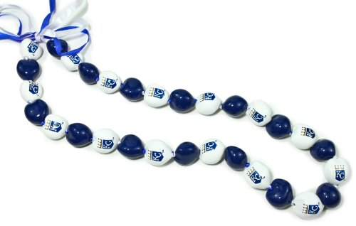 MLB Kansas City Royals Go Nuts Kukui Nut Lei Necklace at Amazon.com