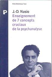 Enseignement de 7 concepts cruciaux de la psychanalyse