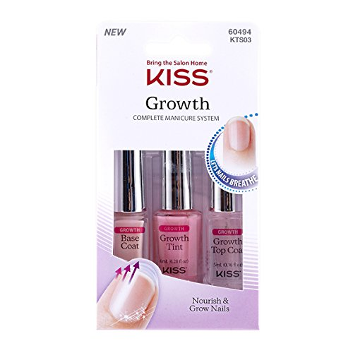 Kiss Growth Complete Manicure System KTS03C босоножки kiss kissy s55384 07 03 09 kisskitty 2015 s55384 07 03 09 05 11
