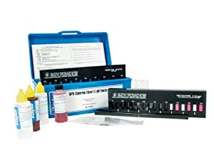 Taylor low bromine pool water test kit swimming pool liquid test kits patio for Swimming pool test kits amazon