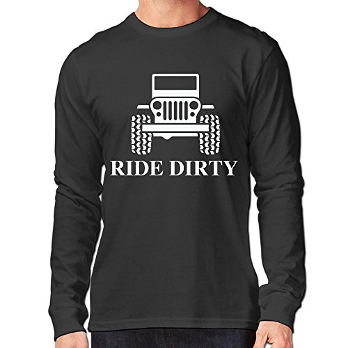 Jeep Wrangler Classic Men's Long Sleeve Shirt