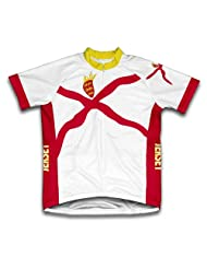 Jersey Flag Short Sleeve Cycling Jersey for Women
