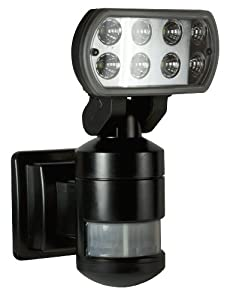 NightWatcher Robotic Security Light-LED (Black) by NightWatcher Security, Inc.