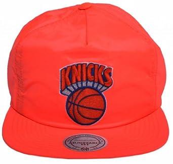 Mitchell and Ness NBA New York Knicks Quickstrike Snapback Bright Orange - One Size by Mitchell & Ness