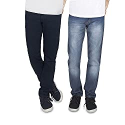 JINJLR Slim Fit Men's Jeans