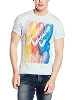 Pepe Jeans London Camiseta Manga Corta Webbs (Azul Celeste)