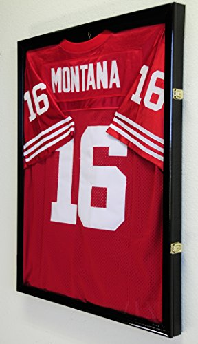 how to make a football jersey display case
