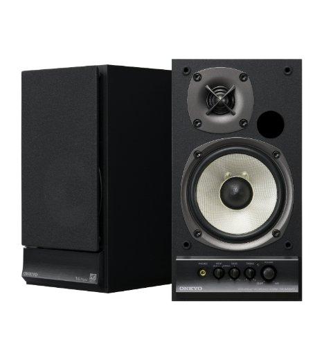 Onkyo Dlna Wireless Speaker System 15W+15W Gx-W100Hv(B) (Black) Japan Import