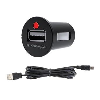 Kensington - Powerbolt - Chargeur de voiture micro USB pour Kindle