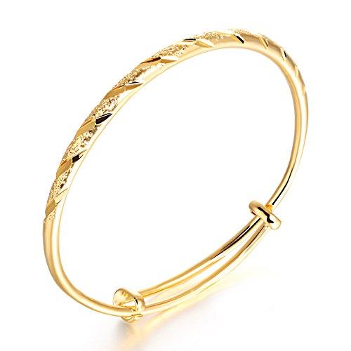 OPK Jewellery Women's Elegant 18k Gold Diamond