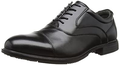 Hush Puppies Vito, Men's Oxford Shoes, Black Leather, 6 UK