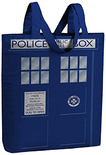 Underground Toys Doctor Who I am Tardis Tote Bag, Small