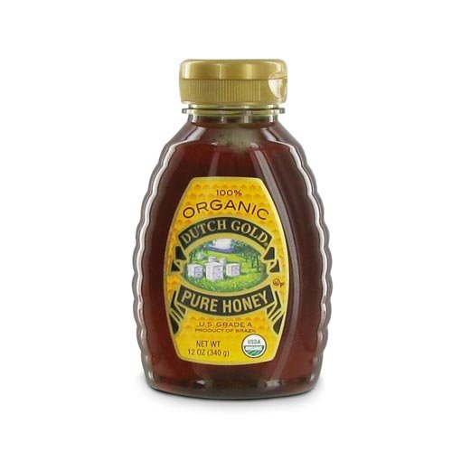 Dutch Gold Honey 100% Organic Wildflower Honey 12 oz.