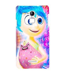 Vizagbeats inside out joy Back Case Cover for Coolpad Note 3 Lite