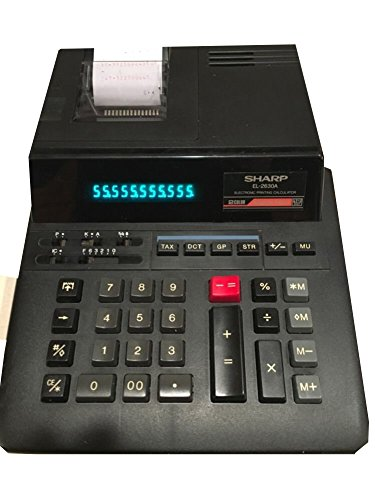 Sharp EL-2630A Adding Machine Calculator (Commercial Adding Machine compare prices)