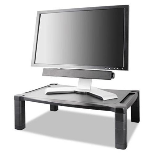 Kantek Single Level Extra Wide Adjustable Monitor/Laptop Stand (MS500