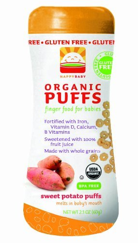Happy Baby Sweet Potato Puffs - 3 Pk.