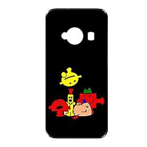 Vibhar printed case back cover for Xiaomi Redmi 2 BlackMon
