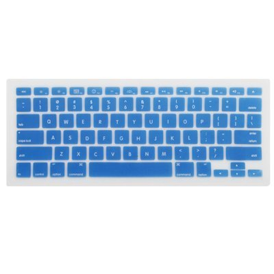 Best  Knopa - BLUE Keyboard Cover Silicone Skin for New Apple MacBook Pro 13