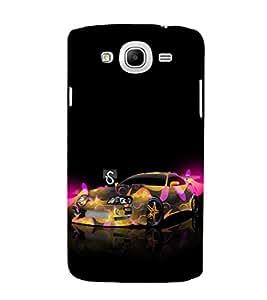 EPICCASE frenzy car Mobile Back Case Cover For Samsung Galaxy Mega 5.8 I 9150 (Designer Case)