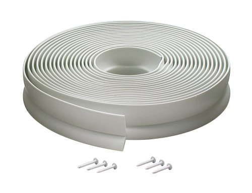 Images for M-D Building Products 3822 Vinyl Garage Door Top and Sides Seal, 30 Feet, White