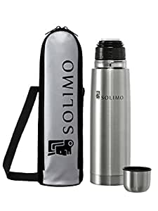 Solimo Thermosteel  Flask, 500ml, Silver